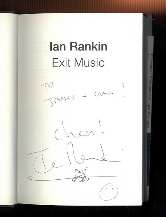 Ian Rankin Signed Copy
