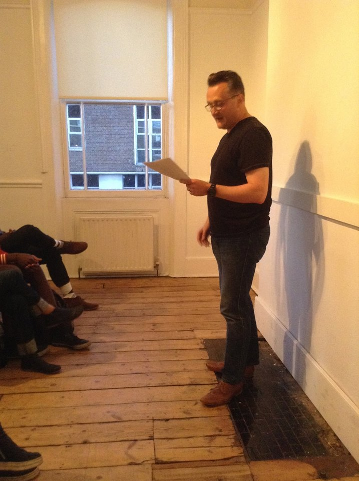 James Reading in London England