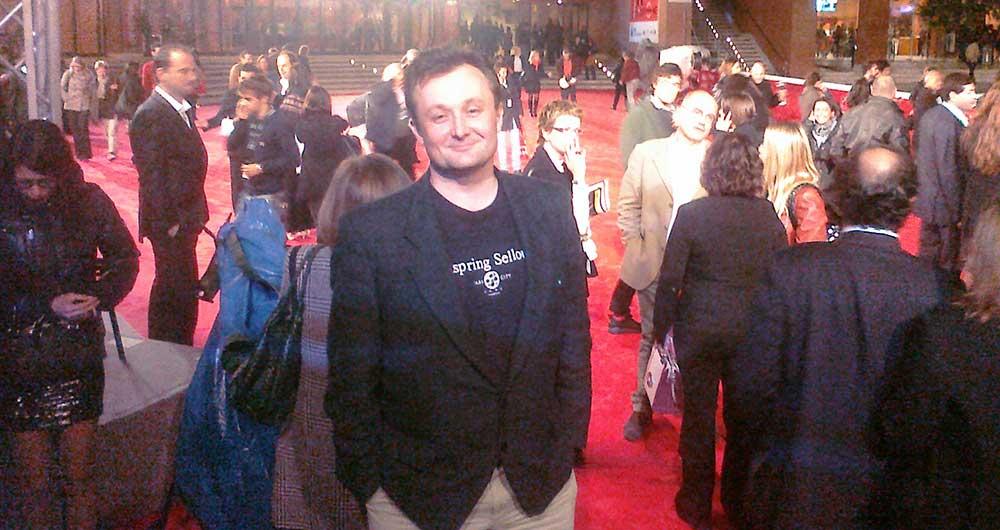 Rome Film Festival - James on the Red Carpet
