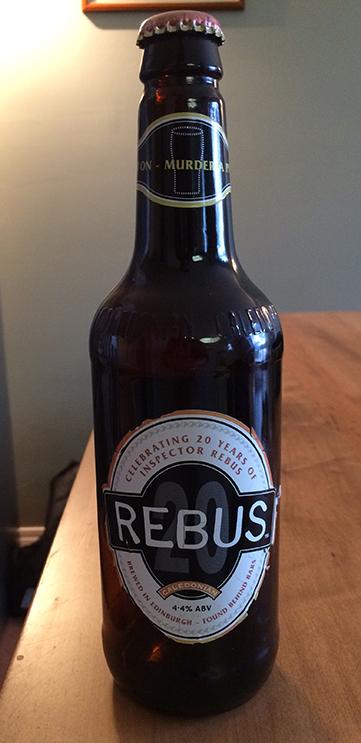 Ian Rankin's beer gift